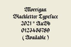 ED Morrigan typeface Product Image 6