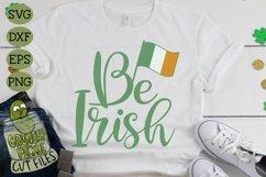 Be Irish - St Patrick's Day SVG File Product Image 3