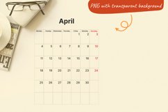 Printable Calendar. 2022 monthly planner sheets A4 Product Image 3