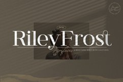 Riley Frost - Casual Serif Font Product Image 1