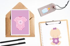 Baby Girl graphics and illustrations Product Image 4