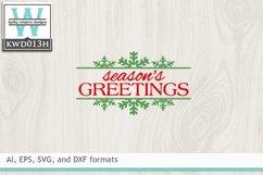 Christmas SVG - Season's Greetings Product Image 2
