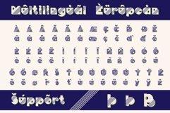 TrigonWeel color OTF font Product Image 6
