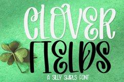 Clover Fields - A Lovely Hand Written Font Product Image 1