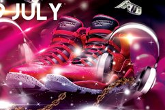 Hip Hop Flyer Bundle Product Image 3