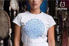 Mandala Bundle SVG, Yoga Mandala Cutting Files, Indian Round Product Image 4