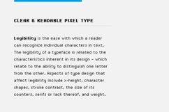 SB Standard - Pixel Font Product Image 3