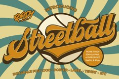 Streetball | Vintage font Product Image 1