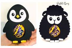 Animal egg holder designs Duck, Rabbit, Penguin and Lamb Product Image 3