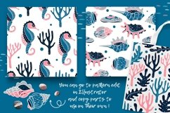 UNDERWATER | Seamless patterns pack Product Image 5