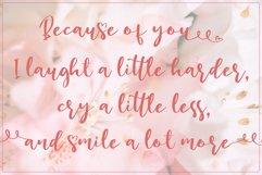 Lucky Girl // Lovely Script Font Product Image 2