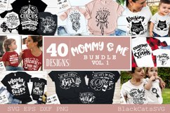 Mommy and me SVG bundle 40 designs vol 1 Product Image 1