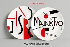 Malarstvo avangard color font Product Image 1