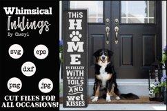 Dog Home-Vertical SVG Product Image 1