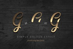 Golden Brush font Product Image 4
