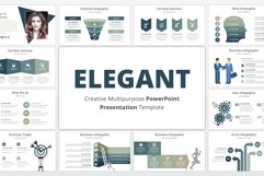 Elegant multipurpose PowerPoint Presentation Template Product Image 1