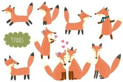 Fox Tales: patterns & clipart Product Image 6