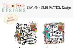 Sublimation bundle | coffee Jesus cross| animal prints Product Image 2