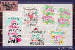 Mothers Day Bundle SVG, DXF, EPS, Png Comm & Pers Product Image 1