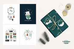 Christmas Art illustration, Nursery art Product Image 7