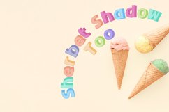 Sherbet Shadow SVG Font Duo Product Image 2
