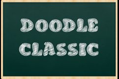 Doodle Classic - Sketch Font Product Image 1