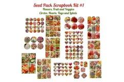 Seed Pack Ephemera Scrapbook Kit # 1 Product Image 1