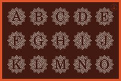 Foil Quill | Single Line | Sketch Mandala Monogram Alphabet Product Image 3