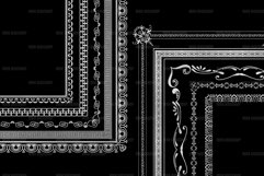 Silver Decorative Frames Clipart Product Image 3