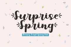 Surprise Spring - A Bouncy Script Font Product Image 1
