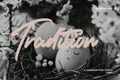 Web Font Tradition - Handwritten Script Font Product Image 1