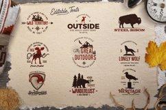 Adventure SVG Mega Bundle, Logo Creator Kit, Camping DXF Set Product Image 5