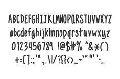 Narrow - handwritten doodles in your notebook Product Image 2