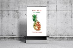 Watercolor exotic fruits Product Image 6