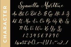 Syamilla Marttine An Elegant Calligraphy Font Product Image 3