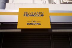 Billboard Mockup on Building - 5 PSD Templates Product Image 3
