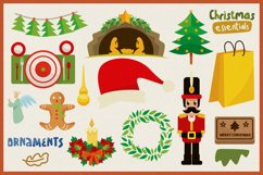 Christmas Decoration Vector Clipart Pack Product Image 5