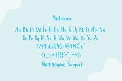 Milkhouse - Handwritten Font Product Image 3
