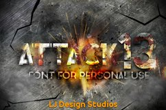 Attack 13 Product Image 1