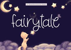 Fairytale - A Cute Handwritten Font Product Image 1