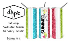 Summer Y'all| 20oz Tumbler |Summer Sublimation Product Image 1