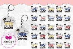 Graduation Keychain Combo|Proud Graduate 2021 Keychain Product Image 4