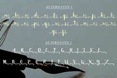 Capolista Modern Calligraphy Typeface Product Image 6