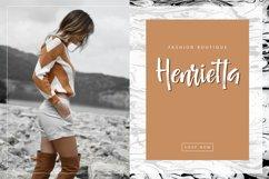 Señorita Handwritten Textured Font Product Image 5