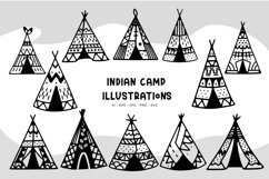 Indian Camp illustrations Product Image 1