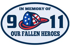 9-11 fireman firefighter hat american flag Product Image 1