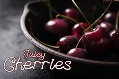 Blueberries - A Menu Font Product Image 3