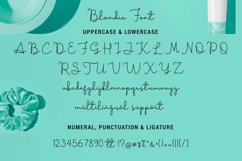 Boldie Blondie Font Duo Product Image 7