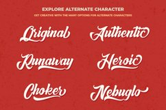Retro Casual Script - Anordighos Font Product Image 2