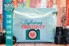 Camera SVG / Capturing Creativity SVG / Crafting SVG Product Image 1